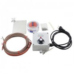Kabel grzejny z termostatem do miodarek i odstojników 8m 263W