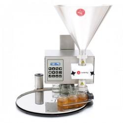 Urządzenie do dozowania, kremowania i pompowania miodu DANA API MATIC 1000 ze stołem obrotowym FI450mm