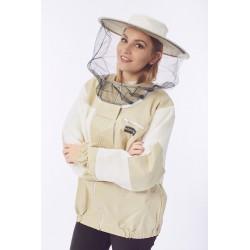 Bluza pszczelarska rozpinana z ultra wentylacją Premium KONIGIN