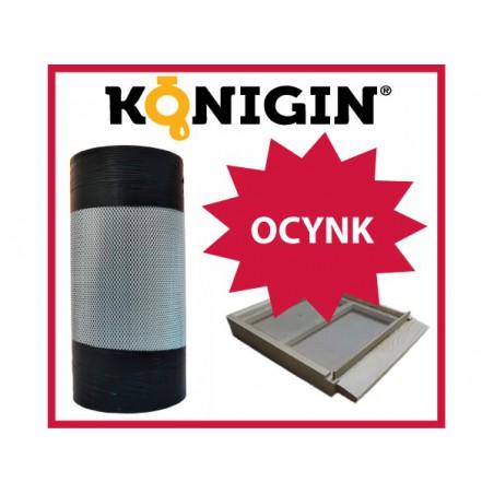 Siatka ocynk, szerokość 460mm, grubość 0.5mm, rolka 10m.b.